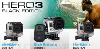 Ceny kamer GoPro-Hero-3