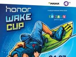 Plakat HONOR Wake Cup Koszalin