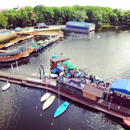 Wyciąg do nart wodnych Szczecinek