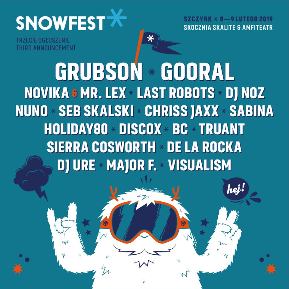 SNOWFEST 2019 MUZYKA